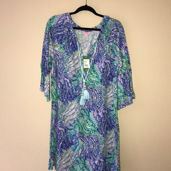 33a688ea769 NWT Lilly Pulitzer Del Lago Tunic Dress XL. M_5cb358ebbb22e355464ef869